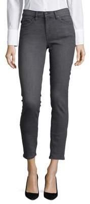 Karl Lagerfeld Paris Faded Skinny-Fit Jeans