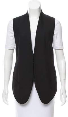 Helmut Lang Button-Up Longline Vest