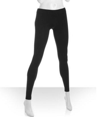 BCBGeneration black stretch nylon leggings