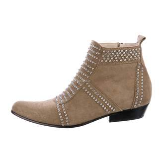 Anine Bing Brown Suede Ankle boots