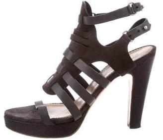 Rag & Bone Caged Suede Sandals