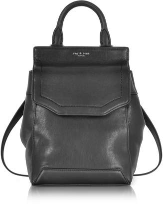 Rag & Bone Black Leather Small Pilot Backpack II