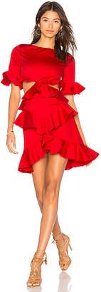 Fame & Partners x REVOLVE Xavier Ruffle Dress