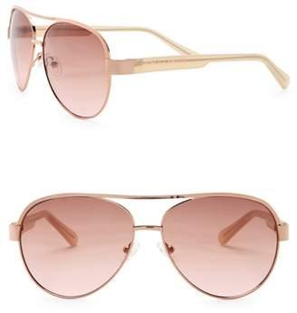 Vince Camuto Women's 58mm Aviator Sunglasses