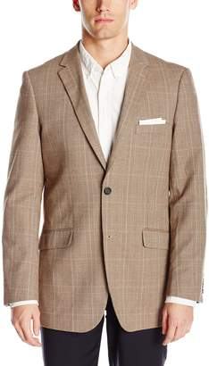 U.S. Polo Assn. Men's Glen Plaid Cotton Blazer