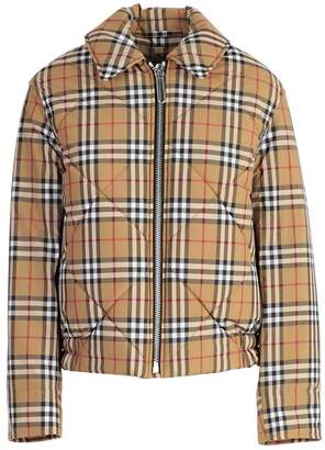 Burberry Check Bomber