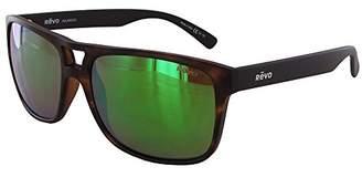 Revo Holsby RE 1019 01 GY Polarized Square Sunglasses