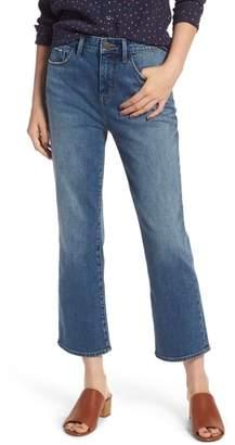 Treasure & Bond Praise High Waist Flared Crop Jeans