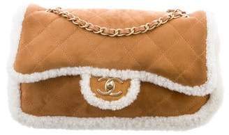 604753824bfeac Chanel 2018 Coco Neige Shearling Flap Bag