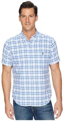 Polo Ralph Lauren Button Down Short Sleeve Sport Shirt Men's Clothing