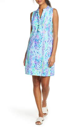 Lilly Pulitzer Sherryn Stretch Cotton Shift Dress