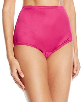 Vanity Fair Women's Perfectly Yours Ravissant Tailored Nylon Brief Panty 15712 $10 thestylecure.com
