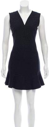 MLM Label Jacquard Mini Dress