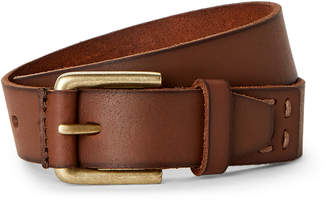 Timberland Boys 8-20) Brown Leather Belt