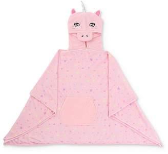 Capelli Girls' Unicorn Hooded Poncho