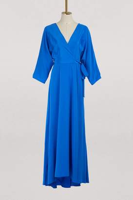Diane von Furstenberg Long draped dress