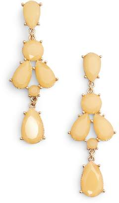 Adia Kibur Stone Drop Earrings