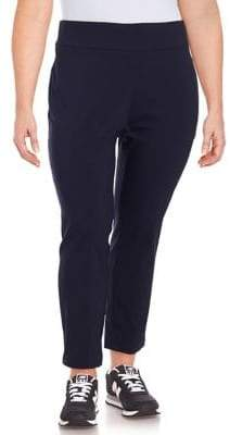 Lord & Taylor Plus Taylor Slim Ankle Pants