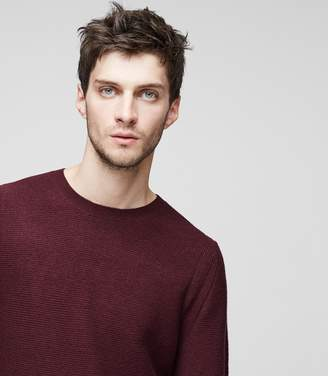 Reiss Prince Ribbed Crew-Neck Jumper