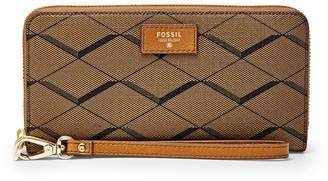 Fossil Large Zip Clutch