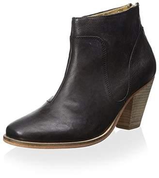 J Shoes Women's Belgrave Stacked Block Heel Bootie