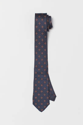 H&M Silk Tie - Blue