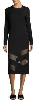 Public School Elsi Sheer Paneled Dress