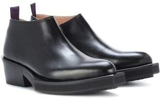 Eytys Romeo leather ankle boots