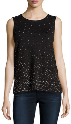 NIC+ZOE Visionaire Sleeveless Top $148 thestylecure.com