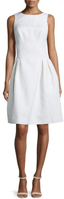 Rickie Freeman for Teri Jon Sleeveless Pleated Party Dress $380 thestylecure.com