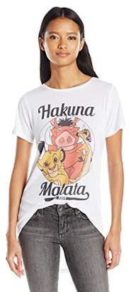 Disney Junior's Lion King Mufasa Simba and Scar Group Shot High Low Drapey Graphic Tee $19.50 thestylecure.com