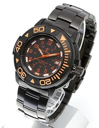 Smith & Wesson スミス&ウェッソン スイス トリチウム ミリタリー腕時計 SWISS TRITIUM DIVER WATCH BLACK/ORANGE SWW-900-OR [正規品]