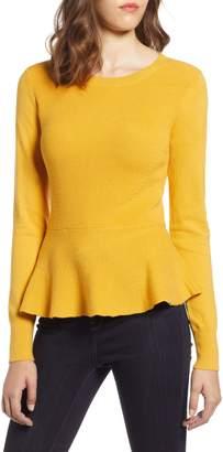 Halogen Peplum Sweater