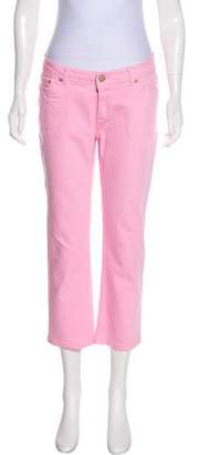 Lilly Pulitzer Mid-Rise Cropped Jeans