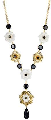 """Kate Spade Small Floral Necklace, 18"""""""