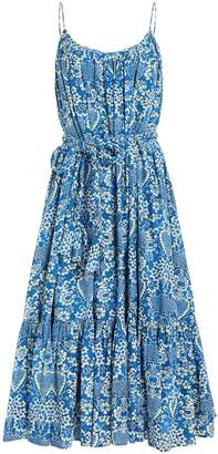 Rhode Resort Lea Cotton Midi Dress
