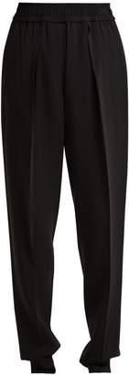 Sportmax Poker crepe trousers