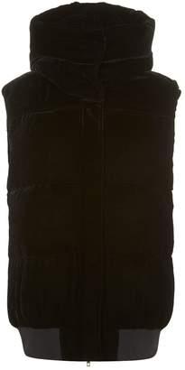 Stella McCartney Sleeveless Velvet Jacket