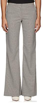 Prabal Gurung Women's Houndstooth Wide-Leg Trousers