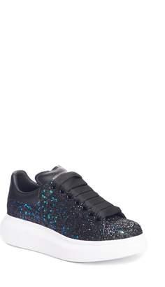 Alexander McQueen Glitter Platform Sneaker