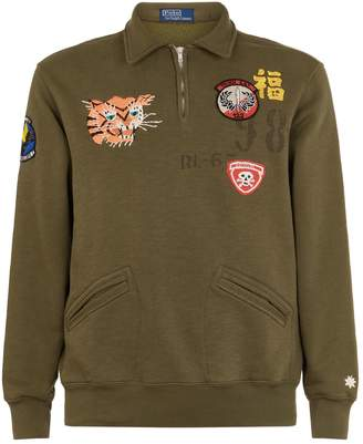 Polo Ralph Lauren Embroidered Tiger Sweater