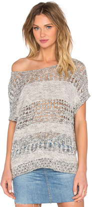 Inhabit Short Sleeve Pullover $286 thestylecure.com