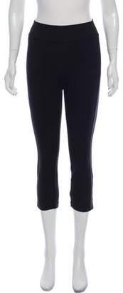 Diane von Furstenberg Mid-Rise Straight-Leg Leggings