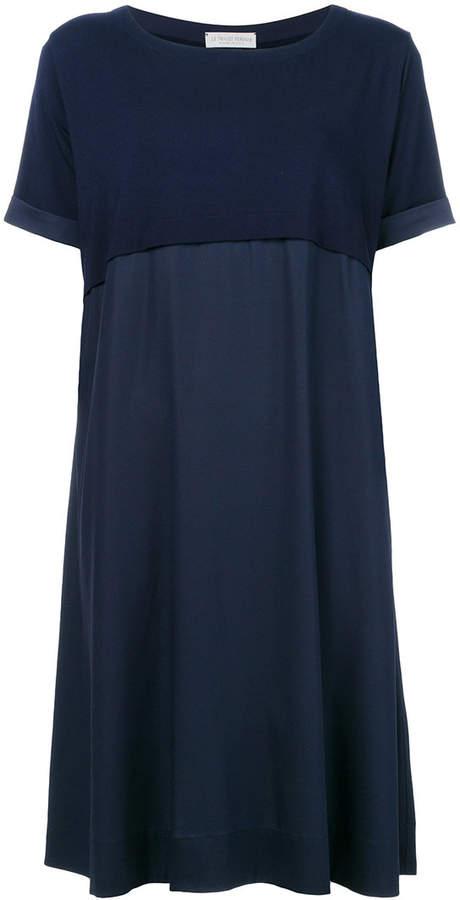layered shift dress
