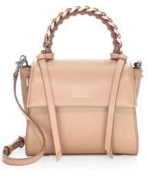 Elena Ghisellini Angel Leather Top Handle Bag
