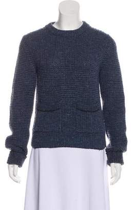 Billy Reid Wool Cable Knit Sweater
