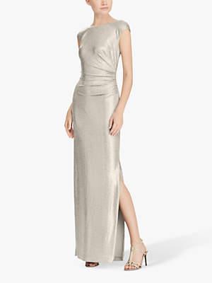 Ralph Lauren Ralph Walt Cap Sleeve Dress, Gold