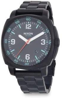 Nixon Charger Stainless Steel Bracelet Watch