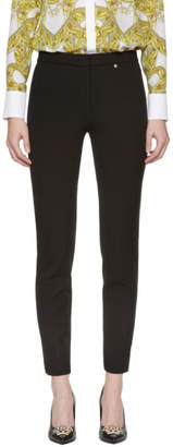 Versace Black Interlock Leggings