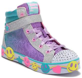 Skechers Smile Lites High-Top Light-Up Sneaker (Little Kid & Big Kid)
